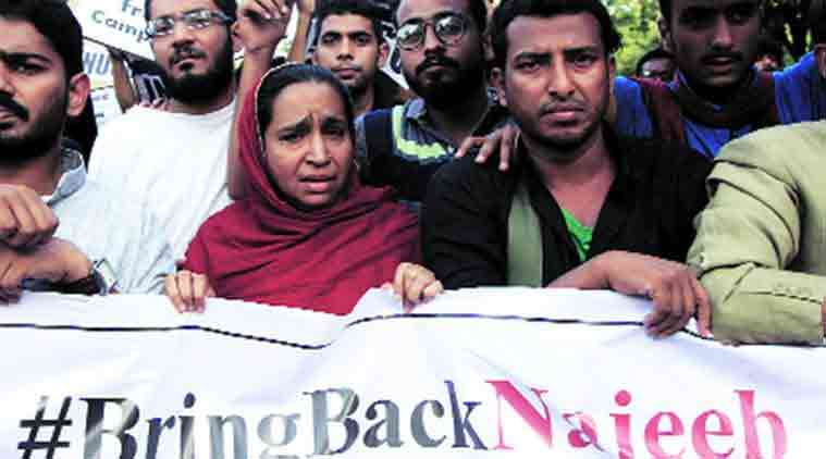 JNU student missing, Najeeb Ahmed missing, JNU, Najeed Ahmed's roommate, Najeeb Ahmed scuffle, Najeeb Ahmed reports, Najeeb Ahmed, JNU student, JNU campus, ABVP, indian express news