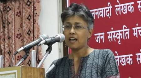 Chhattisgarh murder, Nandini Sundar, delhi university, du, du professor booked, du professor murder, Chhattisgarh tribal murder, Nandini Sundar du professor, Nandini Sundar du, Nandini Sundar professor, Chhattisgarh maoists, Chhattisgarh news, india news, indian express news