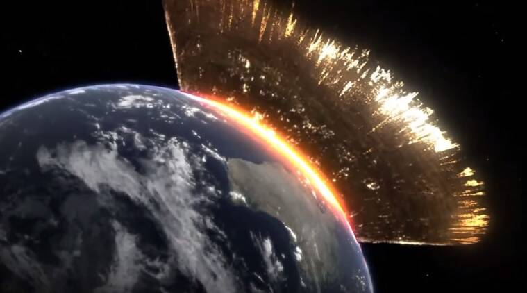 Dino-killing asteroid punctured Earth's crust: Study | The ...