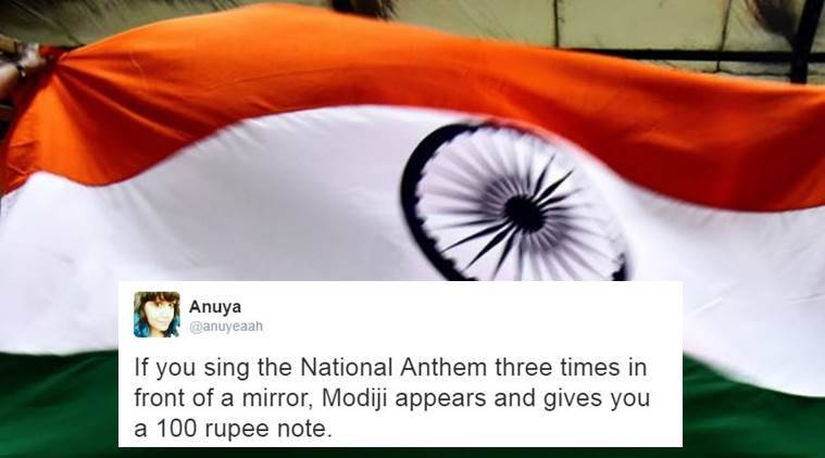Supreme Court said National Anthem has to be played in all movie theatres across the country