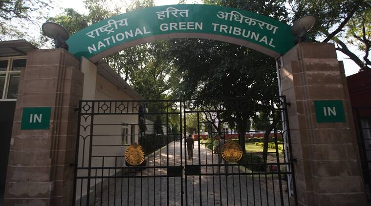 The National Green Tribunal office in New Delhi. Express Photo by Tashi Tobgyal New Delhi 080415