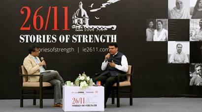Mumbai has shown resilience: CM Fadnavis at 26/11 'Stories of Strength' exhibition