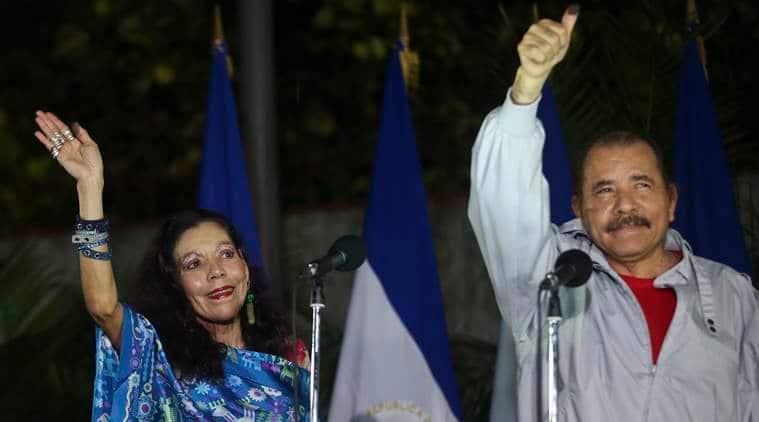 Nicaragua, Nicaragua elections, Nicaragua president, Daniel Ortega, Nicaragua president re-election, world news, latest news, indian express