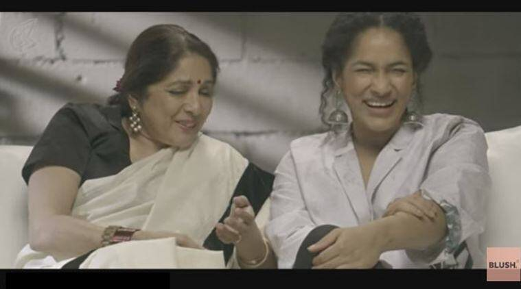 mother, mother daughter relationship, masaba gupta, nina gupta, masaba nina video, blush masaba video, mother daughter relationship video, masaba unblushed video, viral video, trending news, indian express