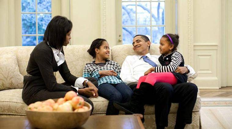 obama, barack obama, obama thanksgiving, obama daughters, obama thanksgiving message, obama letter to daughters, obama family, obama letter to children usa news, america news, world news, viral news, latest news