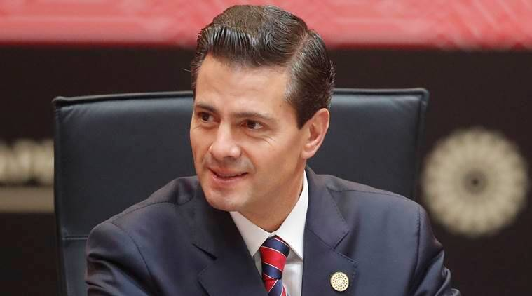 Enrique Pena Nieto, Enrique Pena Nieto visit to Global Platform for Disaster Risk Reduction, Mexico calamities, Mexico news, world news, indian express news, latest news