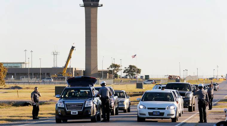 Oklahoma city, Will Rogers World Airport, Oklahoma shooting, Oklahoma airport shooting, Oklahoma airport, airport shooting, US airport shooting, US shooting, US news, world mews, indian express, indian express news