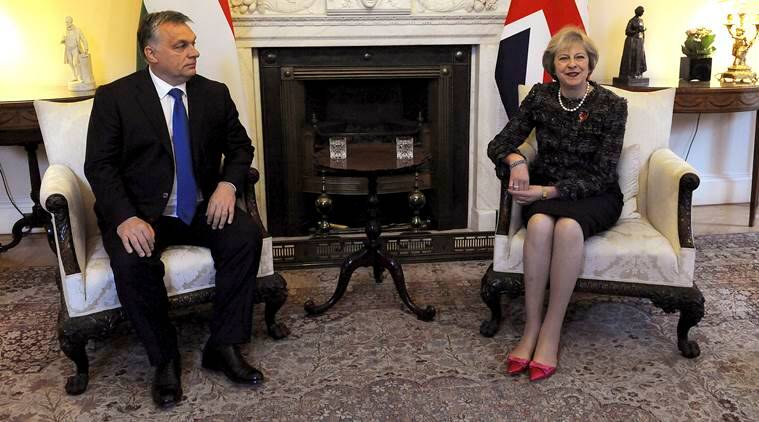 Viktor Orban, Theresa May, Viktor Orban Hungary, EU, European union, EU, Brexit, Brexit EU, British Prime Minister Theresa May, Hungarian PM Viktor Orban, latest news, latest world news