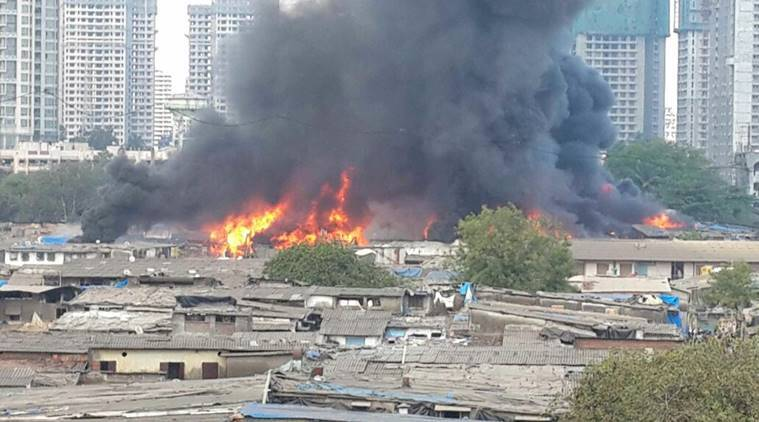 Blaze flattens 200 furniture godowns in Oshiwara, causes huge business losses