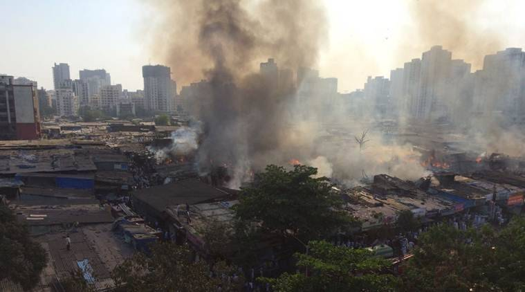 oshiwara, oshiwara fire, mumbai fire, fire in mumbai, mumbai furniture fire, india news, indian express,