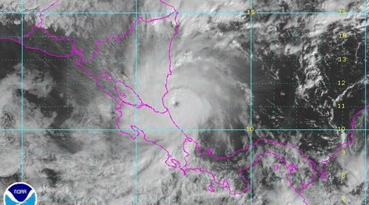 Hurricane Otto is seen approaching the coast of Central America in this NOAA GOES satellite image taken at 09:15 ET (14:15 GMT) November 24, 2016.  NOAA/Handout via REUTERS   THIS IMAGE HAS BEEN SUPPLIED BY A THIRD PARTY. IT IS DISTRIBUTED, EXACTLY AS RECEIVED BY REUTERS, AS A SERVICE TO CLIENTS. FOR EDITORIAL USE ONLY. NOT FOR SALE FOR MARKETING OR ADVERTISING CAMPAIGNS