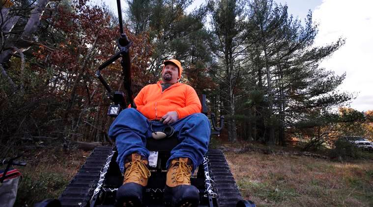 Paraplegic hunters, Massachusetts hunters, hunting, hunting season, Massachusetts news, US news, world news, latest news, indian express