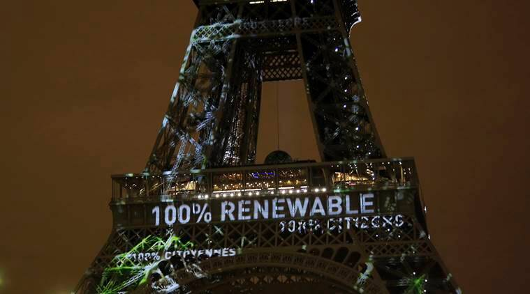 Paris agreement, paris climate change, paris climate summit, global accord, enforced, November 4 2016, global emissions, fossil fuel, world environment, world news, indian express