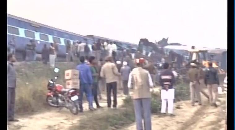 kanpur, patna indore train, train accident, suresh prabhu, railway minister, train accident deaths, kanpur train accident, indore express train accident, suresh prabhu railway minister