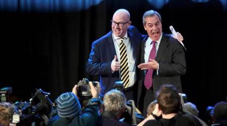 UKIP names new leader Paul Nuttall to replace Donald Trump ally NigelFarage