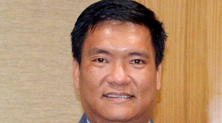 Arunachal government, pema khandu, labour wages hike, wages hike, nabam tuki, indian express news, india news