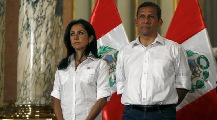 Peru former first lady, Nadine Heredia, Peru UN agency, UN agency appointment, Peru corruption, Peru first lady corruption, Peru news, world news, latest news, indian express