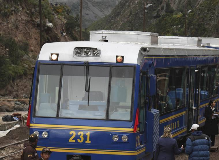 machu pichu, peru, machu pichu train, world news, indian express,