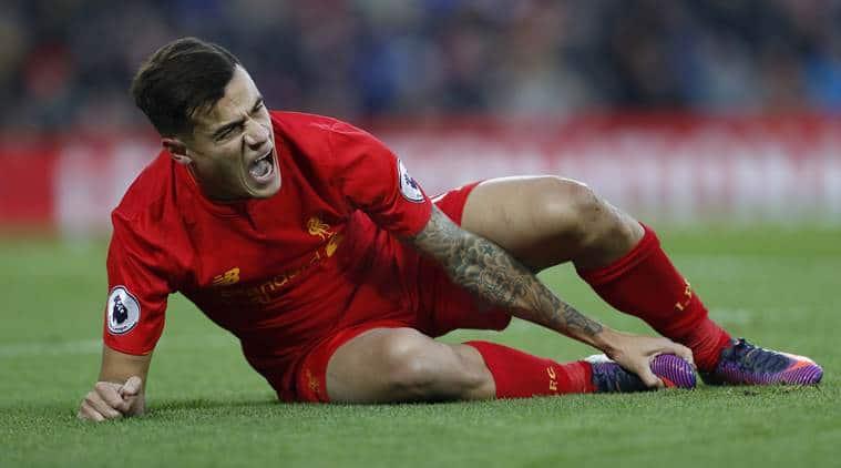 Philippe Coutinho, Coutinho, Coutinho injury, Philippe Coutinho Liverpool, Liverpool vs Sunderland, Sunderland, Premier League, Football news, Football