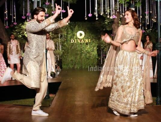 When Ranveer Singh and Vaani Kapoor walked down the ramp to celebrate 'Befikre' love