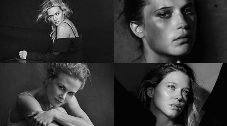 Pirelli, top actresses hollywood, hollywood top actresses, Charlotte Rampling, Uma Thurman, Helen Mirren, Nicole Kidman