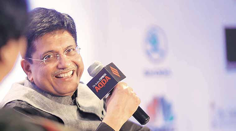 Piyush Goyal, renewable energy, India, India energy power, India energy power upgrade, PM Modi, PM Modi on India's development, India hydro power project, indian express news