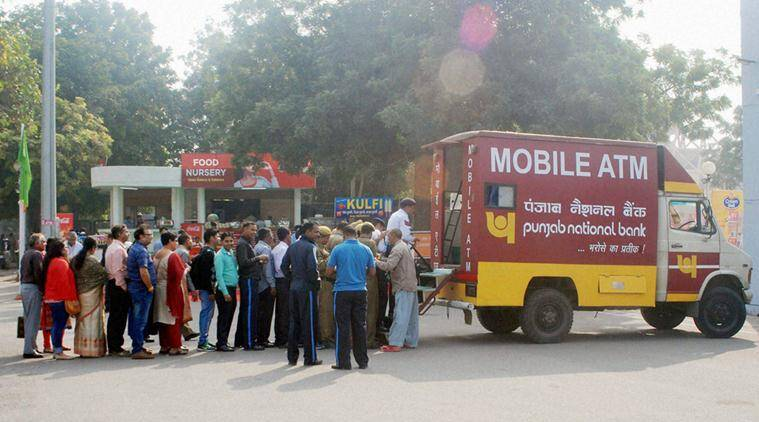 Ola, Ola cab service,  SBI, PNB, State bank of India, Punjab National bank, mobile ATM, ATM, demonetisation, ATM queues, ATM crowd, ATM cash, dipense cash, india news, indian express news