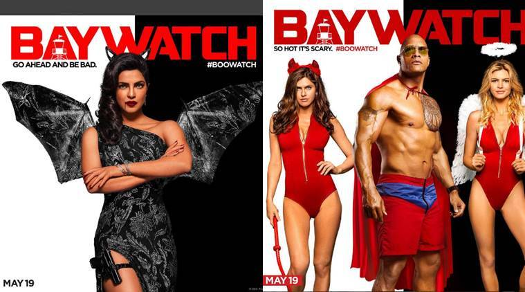 Priyanka Chopra, baywatch, Baywatch new poster, Priyanka Chopra baywatch, Priyanka baywatch new poster, Hapyy Halloween, Halloween, baywatch release date, baywatch movie