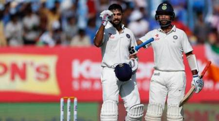 india vs england, ind vs eng, india england, india vs england score, pujara, murali vijay, pujara hudnred, india cricket, cricket score, cricket news, cricket