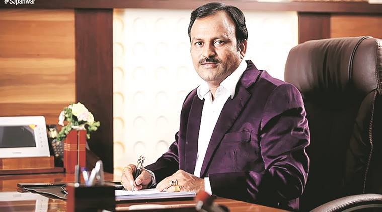 MK Motewar, the chairman and managing director of the controversial firm Samruddha Jeevan Foods.
