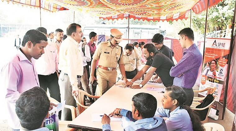 pune, pune news, pune police, pune police fair, children fair, fair jobs, children fair jobs, mela, indian express news, india news