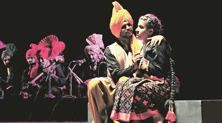 Panjab University, Balwant Gargi Centenary, Mirza Saheban, traditional tapestry, tagore theatre, CEVA Drama Repertory Company, theatre, art and culture, lifestyle, punjab culture, India news, Indian express news