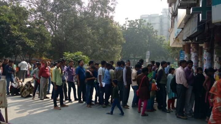 Note demonetisation, demonetisation, ATm queue, banks, RS 500, Rs 1000, new currency, new notes, currency exchange, atms india, latest news, indian express