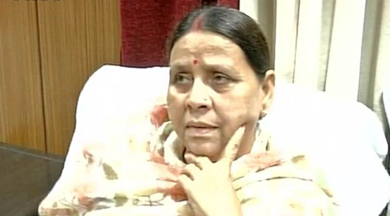 Rabri devi, demonetisation, Rabri devi black money, lalu yadav, lalu prasad yadav, Lau's wife, Former bihar CM Rabri devi, Nirish Kumar, RJD, BJP, Sushil Kumar Modi, BJP, Rabri devi on BJP, Demonetisation debates, india news, indian express news