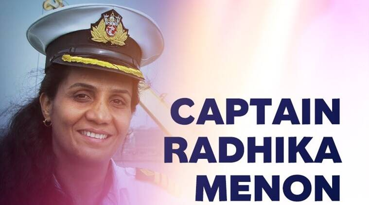 Indian women bags bravery award, International Maritime Organisation (IMO) , Indian merchant navy officer, merchant navy, London bravery awards, Captain Radhika Menon, B M Das, Uttam Navik, Indian Coast Guard Air Station Daman, coastal pride, indian express news