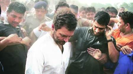 Rahul Gandhi, OROP, ORP suicide, Rahul gandhi Detained, Rahul Gandhi news, Rahul detained, Congress, Congress leaders detained, Congress news, India news