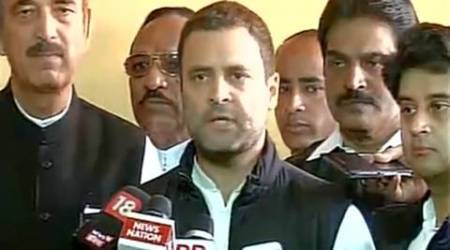 Rahul gandhi, narendra Modi, Modi, Rahul gandhi Pm Modi, Rahul gandhi on PM Modi, Parliament, demonetisation, winter session, Modi's absence from parliament, Demonetisation effects, demonetisation debates, demonetisation news, india news, indian express news