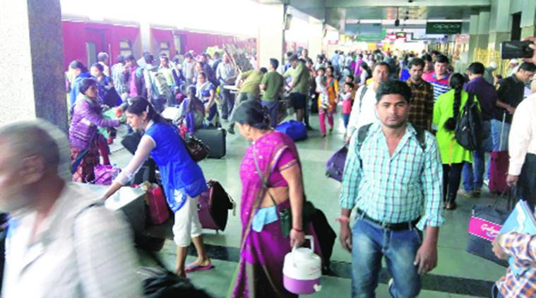Pune, trains, train late, railways, railway station, india news, indian express