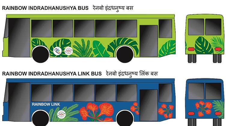 Pune, Pune Rainbow bus, Pune Rainbow link bus, Pimpri Chinchwad, Pune Mahanagar Parivahan Mahamandal Limited, PMPL, latest news, latest pune news