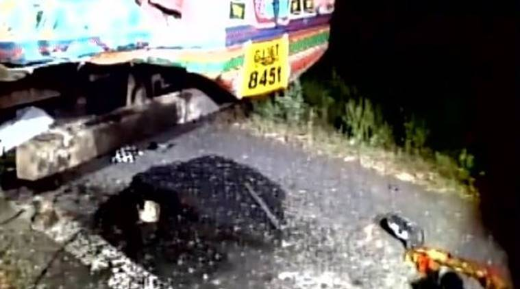 ahmedabad, gujarat, dholka highway, dholka highway accident, dholka accident, truck collision, truck accident ahmedabad, india news