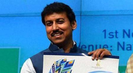 There's no black money in film industry, claims Rajyavardhan Singh Rathore