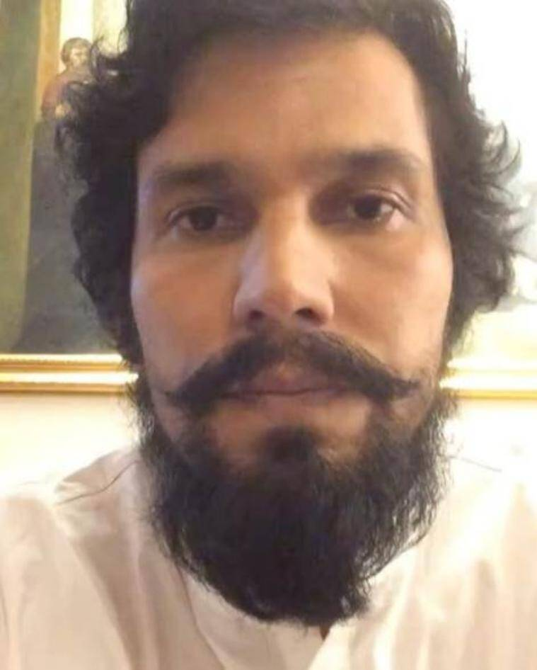 Randeep Hooda sporting a full beard. (Source: Instagram/Randeep Hooda)