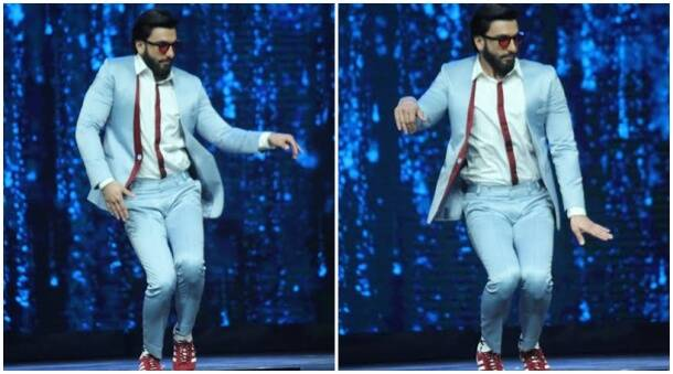 Ranveer Singh gives tough competition to Super Dancers with his latke-jhatke