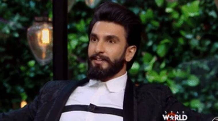 ranveer singh, koffee with karan