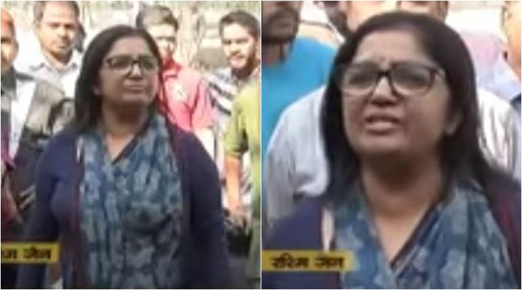 She is the woman who is ready to leave her husband for 'Modi ji'