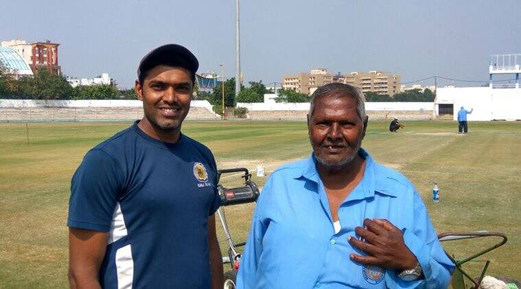 India vs England Rajkot, India vs England 2016 Rajkot, India vs England 2016 Rajkot Test, Ind vs Eng 1st Test, Rasik Makwana, Rasik Makwana Rajkot, Ravindra Jadeja, Cheteshwar Pujara, Cricket