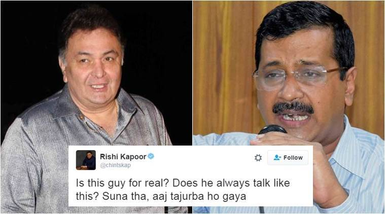 Rishi Kapoor slammed Arvind Kejriwal for his thoughts on demonetisation
