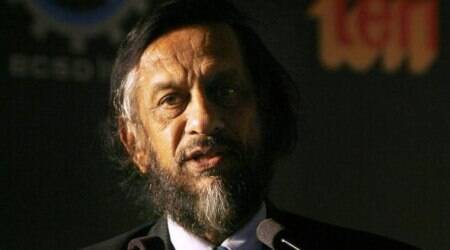 Cross-examined in court, R K Pachauri told to leave, then return