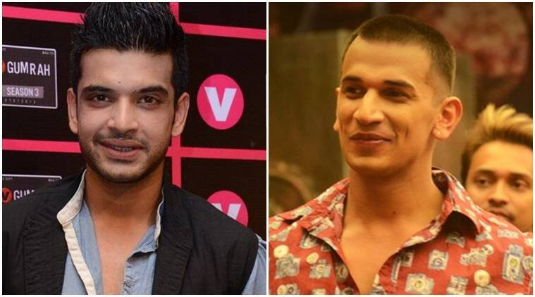 Prince Narula, Karan Kundra, roadies, roadies news, roadies judges, roadies participants, Karan Kundra news, Karan Kundra actor, Karan Kundra serials, Prince Narula, Prince Narula roadies, roadies Prince Narula, Prince Narula roadies judge, entertainment news, indian express, indian express news