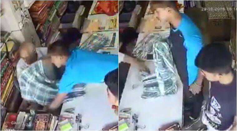 robbery, theft, shop lifting, shop robbery video, shopliffting video, viral video, trending video, viral cctv footage, latest news